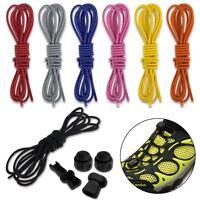 Elastic Shoe Lace Jogging Running Triathlon Trainer Shoelaces Lock Laces Us