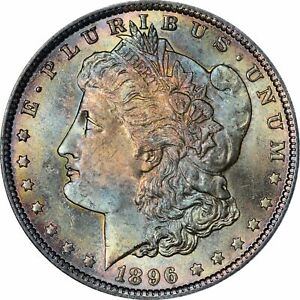 1896-NGC-Morgan-from-MS64-Amazing-Colorful-Toned-Gem
