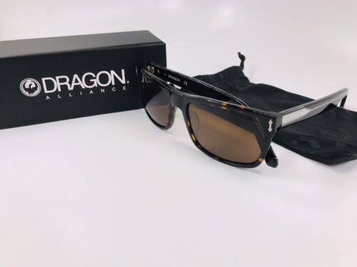 New DRAGON DR515S 206 Shiny Tortoise BLINDSIDE Sunglasses with Brown Lenses