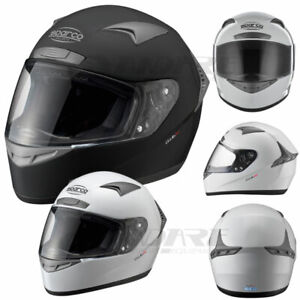 Sparco-Club-X1-X-1-ECE-Approved-Full-Face-Race-Racing-Kart-Track-Day-Helmet