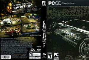 Need-for-Speed-Most-Wanted-PC-2005-NFS-MW-Black-Edition-INSTANT-FAST-SHIPPING