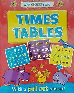 Learn-Times-Tables-Kids-Mathematics-Activity-Education-Book-amp-Reward-Gold-Stars