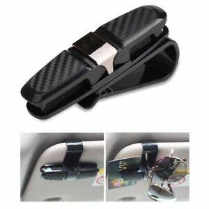 Useful-Car-Auto-Sun-Visor-Glasses-Sunglasses-Card-Ticket-Holder-Clip-Universal