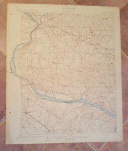 Topography Map Of Virginia.Topography Map State Of Maryland Virginia Seneca Quadrangle 1908
