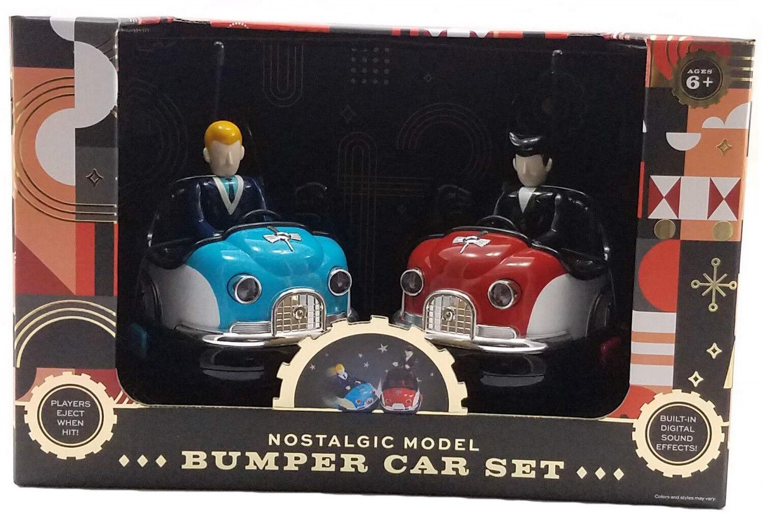 FAO Schwarz Nostalgic Bumper Car Set Remote Control Car Set Retro Multi Farbe