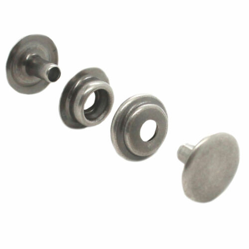 Line 24 Antique Nickel Plated Snap 10 Pack 1263-16