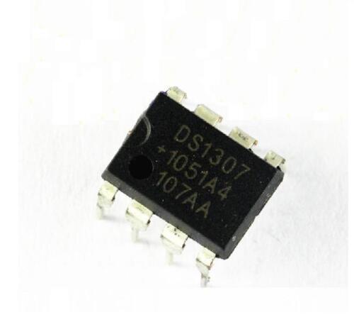 100CS IC DS1307 DS1307N DIP8 RTC SERIAL 512K I2C Real-Time Clock
