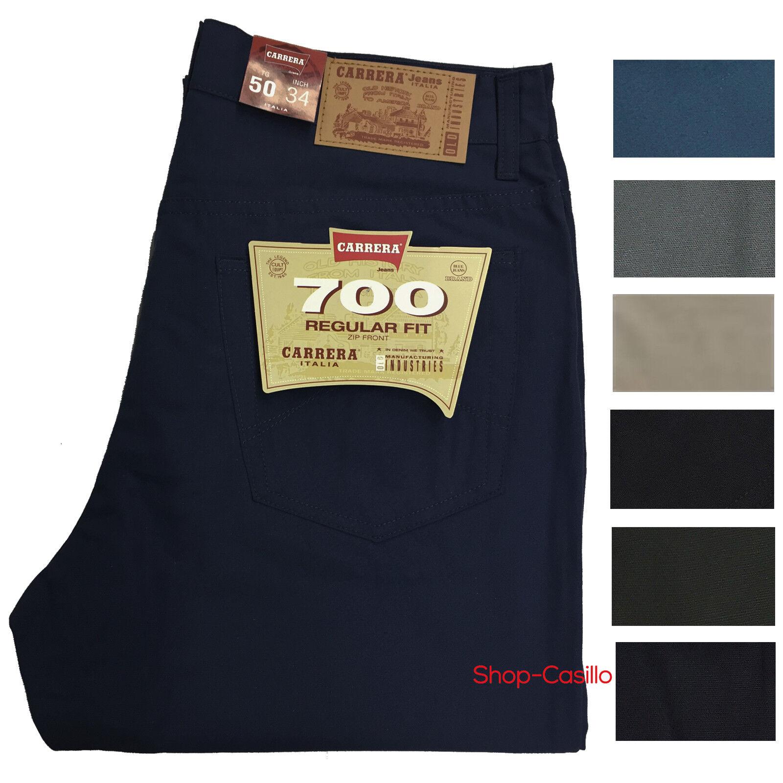 Pantalone Jeans Cotone colorato Carrera 700 Cinque Tasche Estivo Leggero 46 62