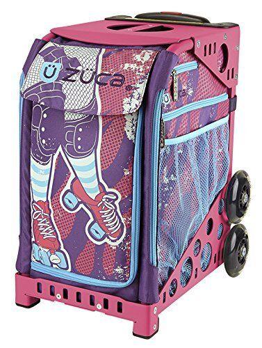 ZUCA Bag Roller Girl Insert & Pink Frame w  Flashing Wheels