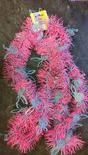 3 x Pink & Blue Easter Bunnys Tinsel Garland Decoration Bonnet Decorating Idea