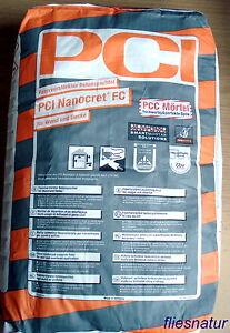 PCI-Nanocret-FC-25kg-Faserverstaerkter-Betonspachtel-Spachtel-Wand-Decke-Moertel