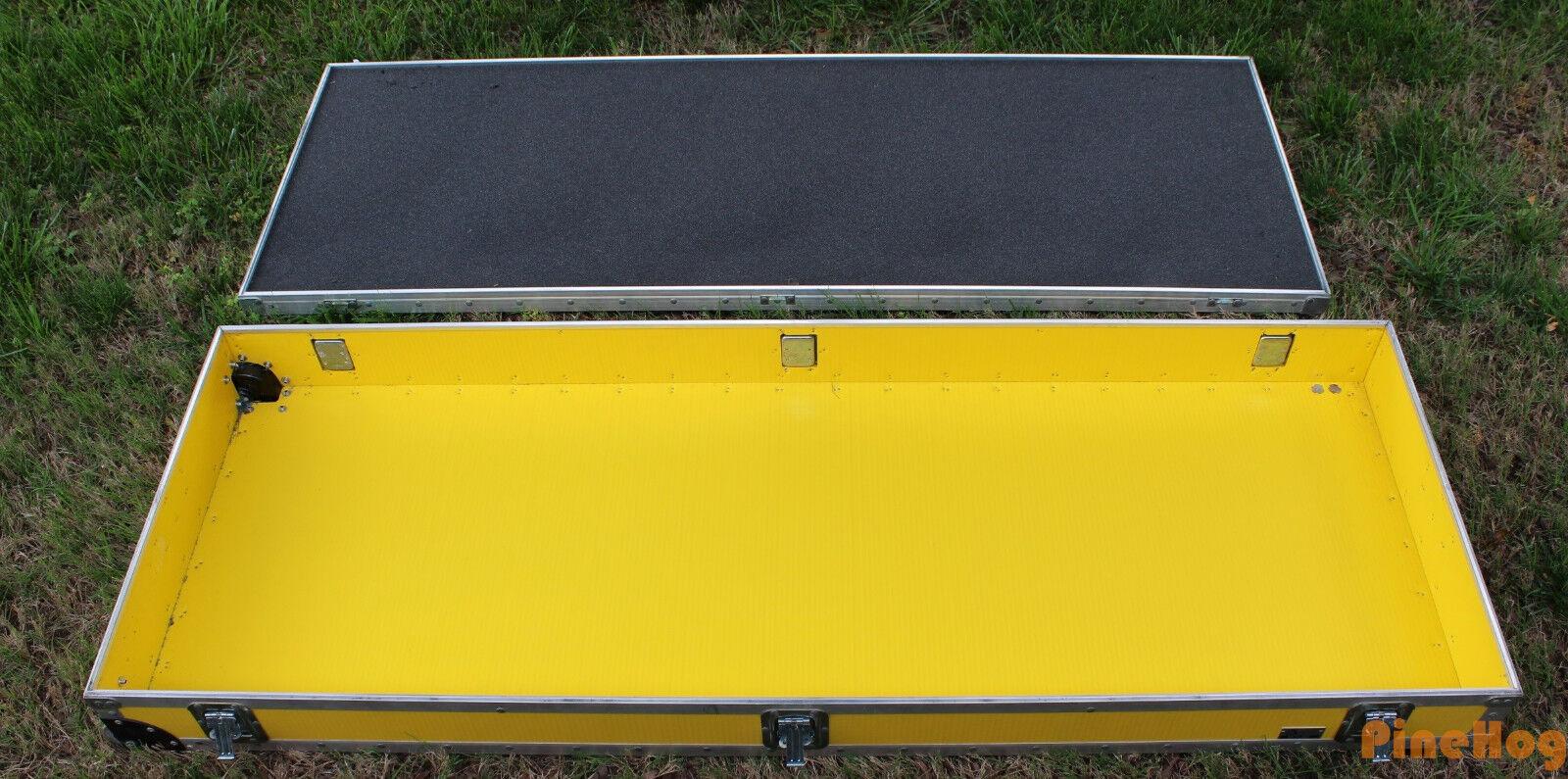 CARCASA rígida amarillo muy muy muy grandes Equipo Dj Duro Estuche de viaje de envío de electrónica  Centro comercial profesional integrado en línea.
