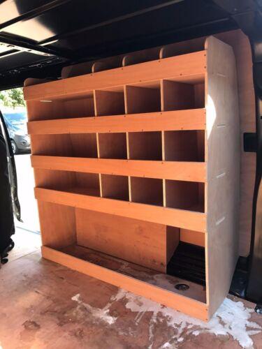 Toyota Pro-Ace L2 LWB Plywood Van Shelving Racking System Tool Storage Unit