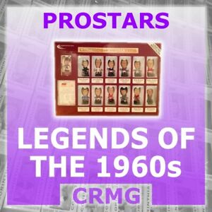CRMG-Corinthian-ProStars-LEGENDS-OF-THE-1960-039-S-choose-from-list