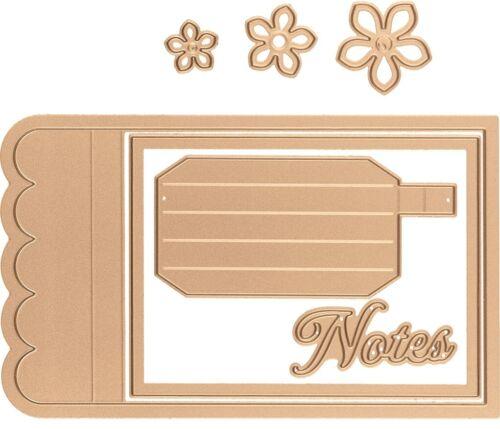 Spellbinders Amazing Paper Grace Shapeabilities Dies-Adorned Notepad