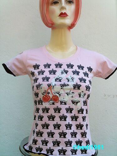 KIRSCHEN SKULL KRONE SKA T-Shirt M//L Punk Rock Emo Baby