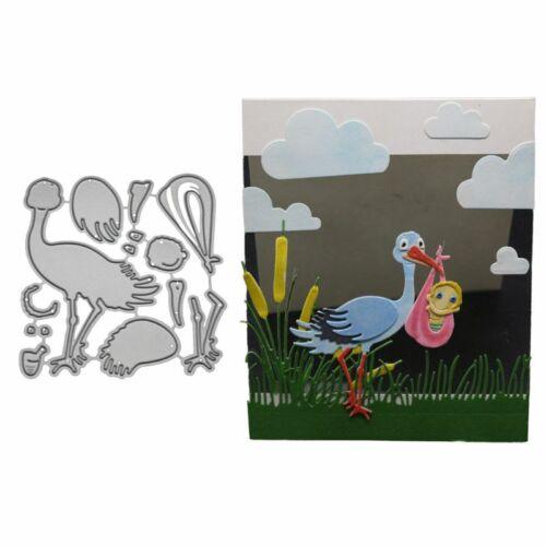 Bird Metal Cutting Dies Stencil DIY Scrapbooking Album Paper Card Embossing