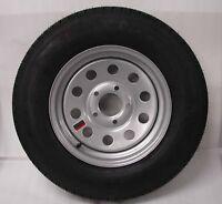14 Trailer 5 Lug 5x4.5 Bp Wheel Rim Tire Silver Mod 205b