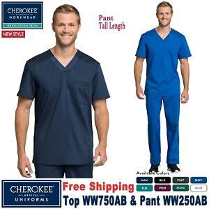 Navy Medical scrub top and trouser set  Size XXLARGE  bi stretch