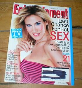 ENTERTAINMENT WEEKLY mag SARAH JESSICA PARKER Hilary Duff Kelly Clarkson Snoop - <span itemprop=availableAtOrFrom>Skipton, North Yorkshire, United Kingdom</span> - ENTERTAINMENT WEEKLY mag SARAH JESSICA PARKER Hilary Duff Kelly Clarkson Snoop - Skipton, North Yorkshire, United Kingdom