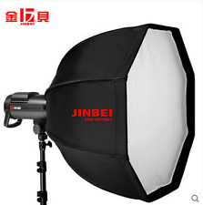 Jinbei 70cm Deep Octangular Black /Silver Softbox for Jinbei Bowens Studio Flash