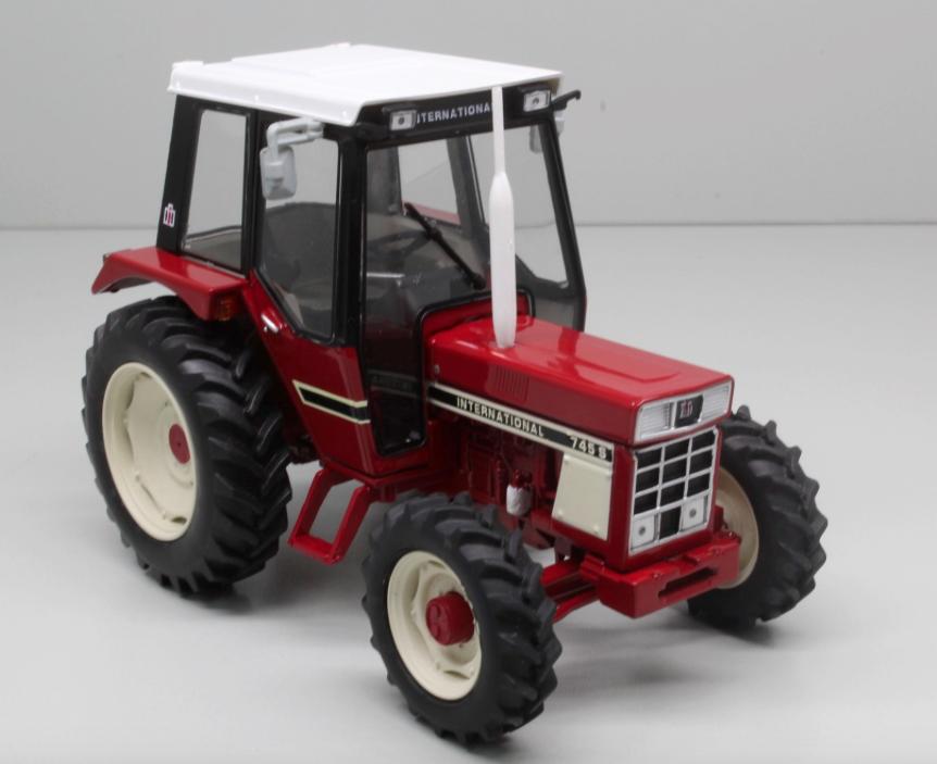 Noël Noël Noël est plein de joie Replicagri 1:32 Scale International 745-S modèle 4x4 Tracteur   Moelleux Et Léger  fe7135