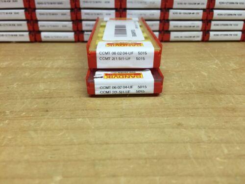 Authentic CCMT 2 1 UF 5015 SANDVIK INSERT 1.5