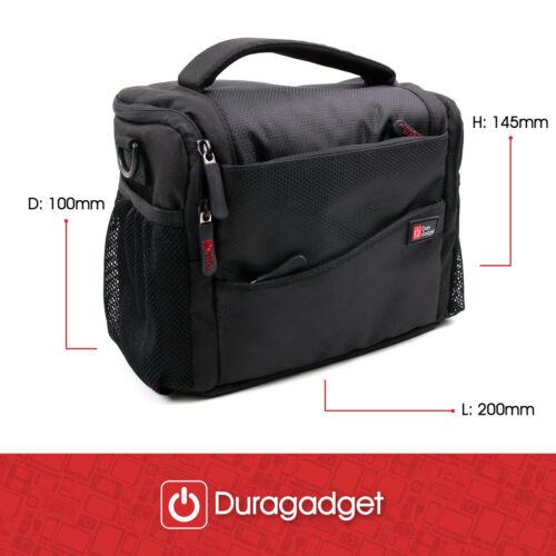 Orange Water-Resistant Carry Bag for Garmin VIRB Ultra 30 Action Camera Black