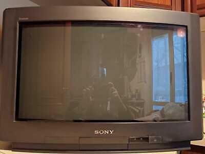 RARO Sony TRINITRON kv-24wx1a 16:9 widescreen 24 pollici CRT FUNZIONANTE  RARE | eBay