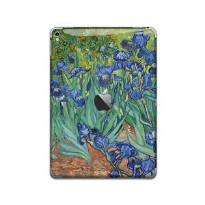 irises painting iPad Skin STICKER Cover Pro air Decal 2 3 10.5 9.7 12.9 IPA131
