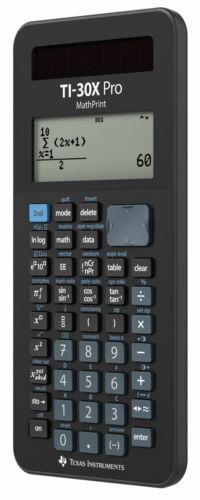 TI-30 X Pro MP Schutztasche Jeans Dunkel Buch zum TI-30X Plus MV
