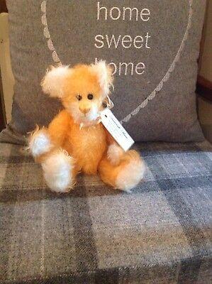 Handcrafted Mohair Bear Lulabelle One Of A Kind-mostra Il Titolo Originale Per Godere Di Alta Reputazione A Casa E All'Estero
