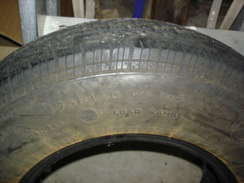 Anden dæktype, 195 / 80 / R14, 90% mønster