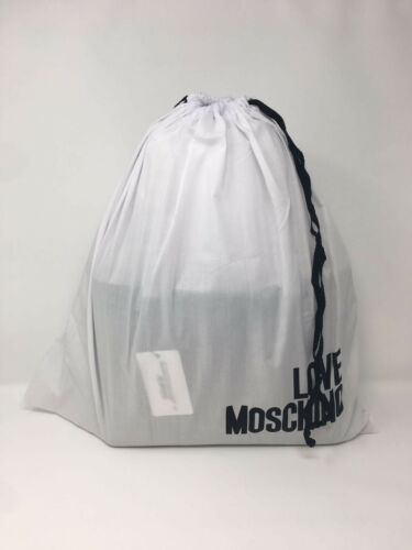 LOVE MOSCHINO Borsa Embossed Logo Tote Bag with Inner Wallet