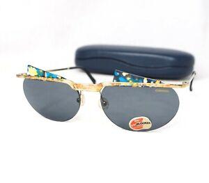 31d24613e2 CARRERA 5548 oval sunglasses gold blue gray 5621 PORSCHE DESIGN ...