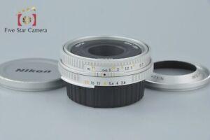 Very-Good-Nikon-Ai-S-NIKKOR-45mm-f-2-8-P-Silver