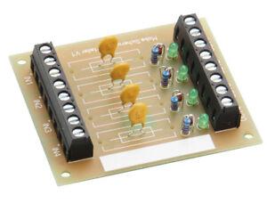 Modellbahn Sicherungsvert<wbr/>eiler  4 getrennte Stromkreise  DM427  Neu Ovp