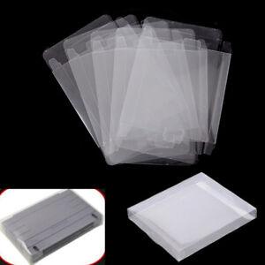 5pcs-Game-Plastic-Cartridge-Protector-Cover-Box-Case-For-Nintendo-SNES-Super