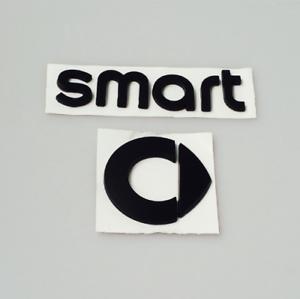 SMART-Emblem-Neu-Logo-Zeichen-Aufkleber-Heckklappe-Schriftzug-schwarz