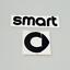 SMART-Emblem-Neu-Logo-Zeichen-Aufkleber-Heckklappe-Schriftzug-schwarz Indexbild 1