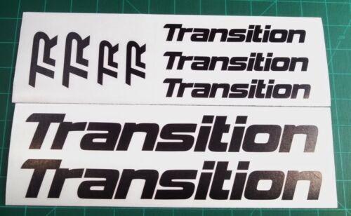 Transition Bike Decals Set 9 DH MTB TR Covert Bandit Blindside Freeride