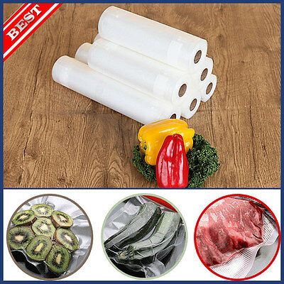 KOREA Vacuum Sealer Bag Pack Food Saver Storage Fruit Meat Fish Stuffs Container