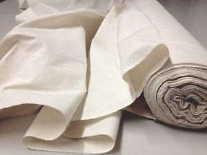 d4e62f6a4937 Image is loading Natural-Cream-CALICO-Fabric-Upholstery-Curtain-Cotton-TOP-