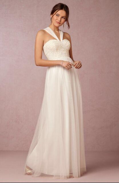 7313d54fb29 new ANTHROPOLOGIE Ivory Jenny Yoo Juliette B Wedding Dress Sz 18