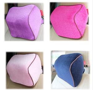 Car-Office-Home-Seat-Head-Neck-Rest-Cushion-Headrest-Memory-Foam-Contour-Pillow