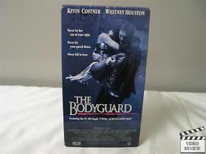 The-Bodyguard-VHS-1993-Whitney-Houston-Kevin-Costner
