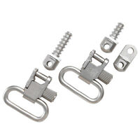 Ruger 10/22 Sling Mounting Kit Silver - Uncle Mike's W/ Swivels 10 22 Stainless