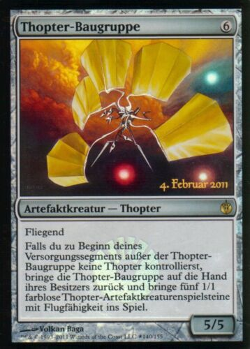 Thopter AssemblyNMRelease Promos Magic Thopter-Baugruppe FOIL GER