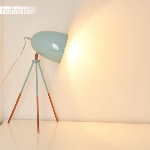Retro Design Wohn Schlaf Raum Tisch Leuchten Türkis Nachttisch Lampe verstellbar