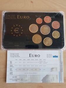 KMS San Marino Euro Prestige Coinsetim Hart-Cover 50000 Stück | eBay